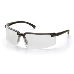 PYRSB6110S - Pyramex Safety ProductsSurveyor™ Eyewear Clear Lens with Black Frame