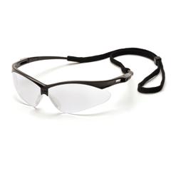 PYRSB6310SP - Pyramex Safety ProductsPMXTREME™ Eyewear Clear Lens with Black Frame & Cord
