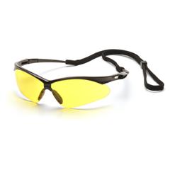 PYRSB6330SP - Pyramex Safety ProductsPMXTREME™ Eyewear Amber Lens with Black Frame & Cord