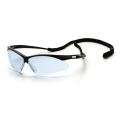 PYRSB6360SP - Pyramex Safety ProductsPMXTREME™ Eyewear Infinity Blue Lens with Black Frame & Cord