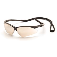 PYRSB6380SP - Pyramex Safety ProductsPMXTREME™ Eyewear IO Mirror Lens with Black Frame & Cord
