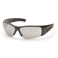 PYRSB6970D - Pyramex Safety ProductsPMXTORQ™ Eyewear Silver Mirror Lens with Black Temples