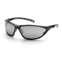 PYRSB7770D - Pyramex Safety ProductsPMXCITE™ Eyewear Silver Mirror Lens with Black Frame