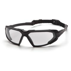 PYRSBB5010DT - Pyramex Safety ProductsHighlander™ Eyewear Clear Anti-Fog Lens with Black Frame
