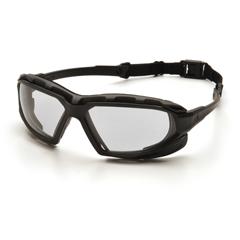 PYRSBG5010DT - Pyramex Safety ProductsHighlander XP™ Eyewear Clear Anti-Fog Lens with Black/Gray Frame