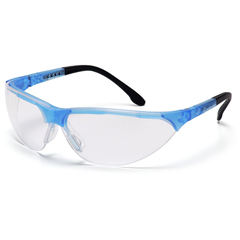 PYRSCB2810S - Pyramex Safety ProductsRendezvous® Eyewear Clear Lens with Crystal Blue Frame