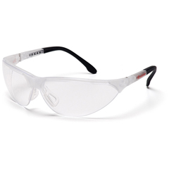PYRSCC2810ST - Pyramex Safety ProductsRendezvous® Eyewear Clear Anti-Fog Lens with Crystal Clear Frame