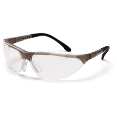 PYRSCG2810ST - Pyramex Safety ProductsRendezvous® Eyewear Clear Anti-Fog Lens with Crystal Gray Frame