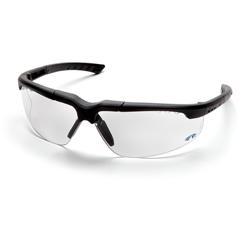 PYRSCH4810DT - Pyramex Safety ProductsReatta® Eyewear Clear Anti-Fog Lens with Charcoal Frame