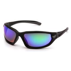 PYRVGSB157T - Pyramex Safety ProductsOcoee Eyewear Green Mirror Anti-Fog Lens with Black Frame