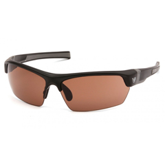 PYRVGSB318T - Pyramex Safety ProductsTensaw Eyewear Bronze Anti-Fog Lens with Black Frame