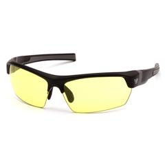 PYRVGSB330T - Pyramex Safety ProductsTensaw Eyewear Yellow Anti-Fog Lens with Black Frame