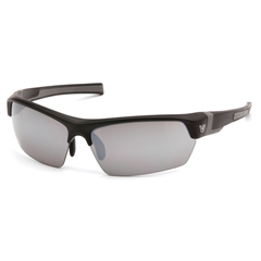 PYRVGSB370T - Pyramex Safety ProductsTensaw Eyewear Silver Mirror Anti-Fog Lens with Black Frame
