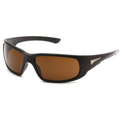 PYRVGSB618T - Pyramex Safety ProductsMontello Eyewear Bronze Anti-Fog Lens with Black Frame