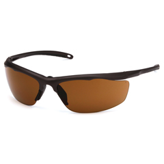 PYRVGSBR218T - Pyramex Safety ProductsZumbro Eyewear Bronze Anti-Fog Lens with Black Frame