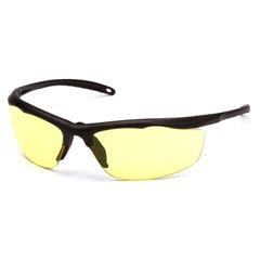 PYRVGSBR230T - Pyramex Safety ProductsZumbro Eyewear Yellow Anti-Fog Lens with Black Frame