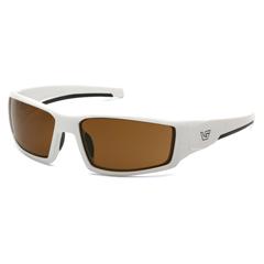 PYRVGSW518T - Pyramex Safety ProductsPagosa Eyewear Bronze Anti-Fog Lens with White Frame