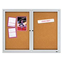 QRT2124 - Quartet® Enclosed Bulletin Board