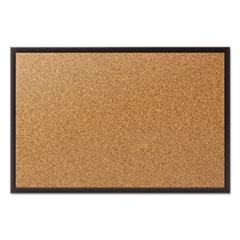 QRT2301B - Quartet® Cork Bulletin Board with Black Frame