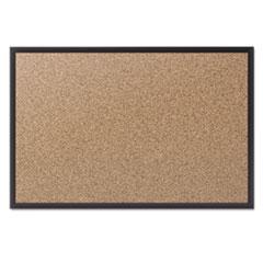 QRT2304B - Quartet® Cork Bulletin Board with Black Frame