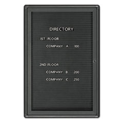 QRT2963LM - Quartet® Enclosed Magnetic Directory