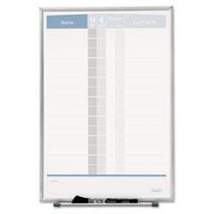 QRT33703 - Quartet® Matrix™ Employee In/Out Board