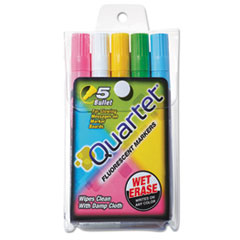 QRT5090 - Quartet® Glo-Write™ Fluorescent Marker Five-Color Set