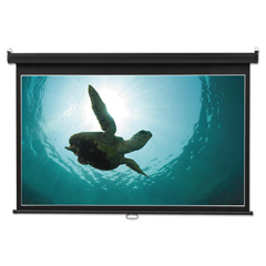 QRT85573 - Quartet® Wide Format Wall Mount Projection Screen