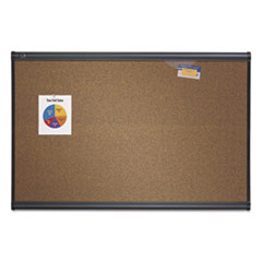 QRTB243G - Quartet® Prestige™ Colored Cork Bulletin Board