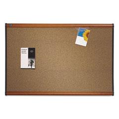 QRTB247LC - Quartet® Prestige™ Colored Cork Bulletin Board