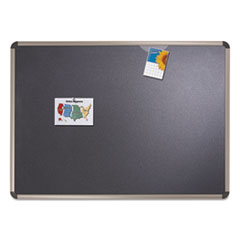 QRTB363T - Quartet® Prestige™ Euro Style Black Embossed Foam Bulletin Board