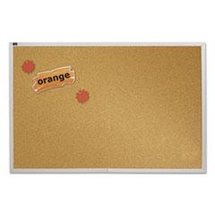 QRTECKA408 - Quartet® Natural Cork Bulletin Board