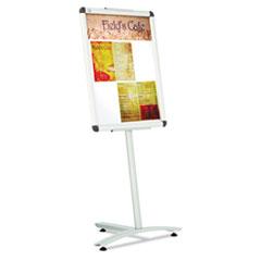 QRTLCF2418 - Quartet® Clip-Frame Pedestal Sign