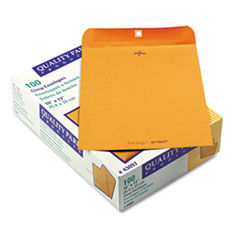 QUA43097 - Quality Park™ Park Ridge™ Kraft Clasp Envelope