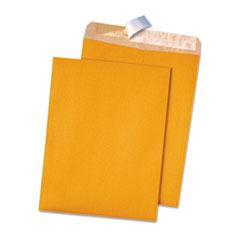 QUA44511 - Quality Park™ 100% Recycled Brown Kraft Redi-Strip™ Envelope