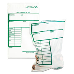 QUA45220 - Quality Park™ Clear Cash Transmittal Bags