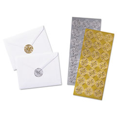 QUA46910 - Quality Park™ Decorative Foil Envelope Seals
