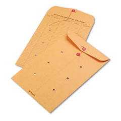 QUA63564 - Quality Park™ Light Brown Kraft String & Button Interoffice Envelope
