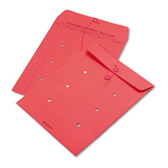 QUA63574 - Quality Park™ Colored Paper String & Button Interoffice Envelope