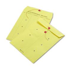 QUA63576 - Quality Park™ Colored Paper String & Button Interoffice Envelope