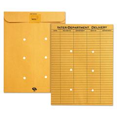 QUA63664 - Quality Park™ Light Brown Kraft Resealable Redi-Tac™ Interoffice Envelope