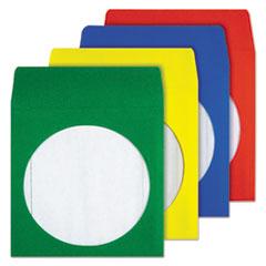 QUA68905 - Quality Park™ Colored CD/DVD Paper Sleeves