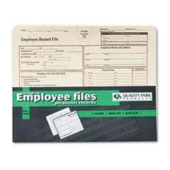 QUA69998 - Quality Park™ Employee Record Folder