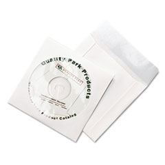 QUA77203 - Quality Park™ Tech-No-Tear CD/DVD Sleeves