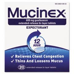 RAC00820 - Mucinex® Expectorant Regular Strength