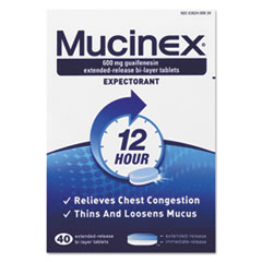RAC00840 - Mucinex® Expectorant Regular Strength