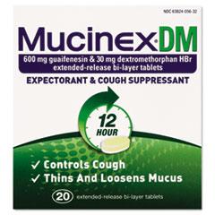 RAC05620 - Mucinex® DM Expectorant and Cough Suppressant