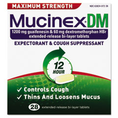 RAC07228 - Mucinex DM Max Strength Expectorant and Cough Suppressant
