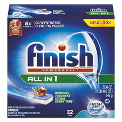 RAC81049 - FINISH® Powerball® Dishwasher Tabs
