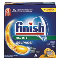 RAC81053 - FINISH® Dish Detergent Gelpacs®